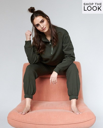 Pretty in comfy homewear